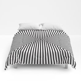 Converge Four Bold Black Comforters