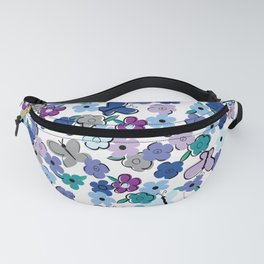 Flowers and Butterflies II Fanny Pack
