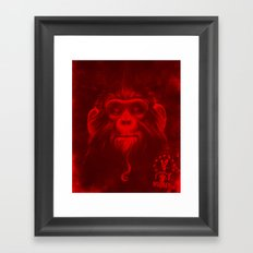 Twelfth Monkey Framed Art Print