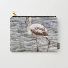 Find Your Footing And Stand Firm Watercolor Carry-All Pouch