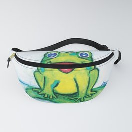 Happy Frog - Watercolor Fanny Pack