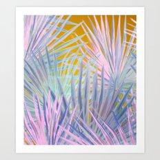 Jungle Abstraction Art Print