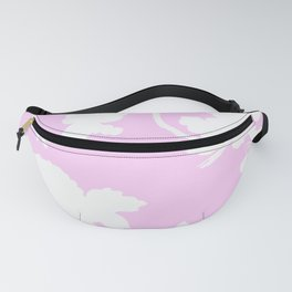 Chinoiserie Silhouette Pink Fanny Pack