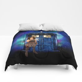 Mrs River and the tardis Comforters