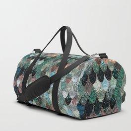 SUMMER MERMAID SEAWEED MIX by Monika Strigel Duffle Bag