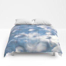 Sky Bubbles #abstract #art #society6 #decor Comforters