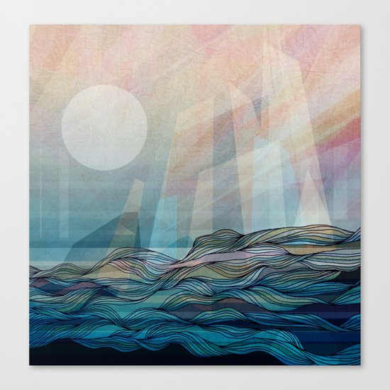 Arctic morning Canvas Print