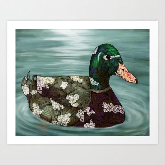 Mallard Art Print