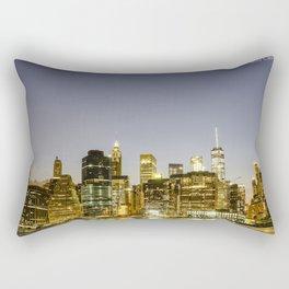 Golden Apple Rectangular Pillow