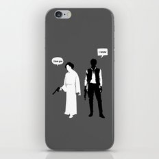 I Love You. I Know iPhone & iPod Skin