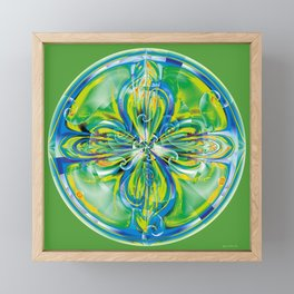 Mandalas of Healing and Awakening 6 Framed Mini Art Print