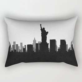 City Skylines: New York City Rectangular Pillow