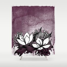 Flower Tangle Shower Curtain