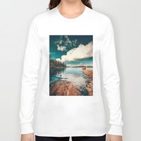 belle Long Sleeve T-shirts featuring Belle Svezia by HappyMelvin