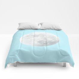 WHITE MOON + BLUE SKY Comforters