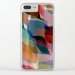 if you leaf me now Clear iPhone Case