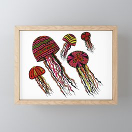 Floating Around Framed Mini Art Print