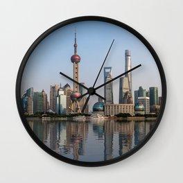 Reflections of Shanghai Wall Clock
