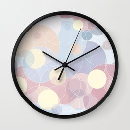 Sweet Roundabout 3 Wall Clock