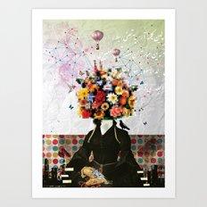 Madame Noon Art Print