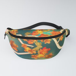 Maple Leaves in the Fall Fanny Pack