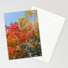 Autumn Leaves II Stationery Cards