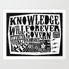 Knowledge Art Print