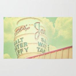 Vintage Sign Print, retro nursery decor, shabby chic, carnival print, vintage circus Rug
