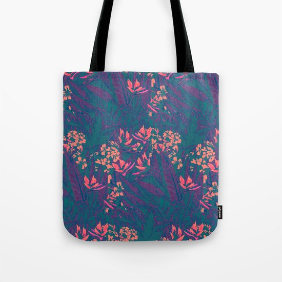 Tropical Paradise: Purple Haze Tote Bag