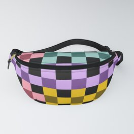 Colorful Checker 03 Fanny Pack
