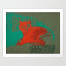 Pet shop Art Print