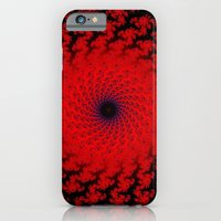 Red Space Spiral Fractal  Slim Case iPhone 6s