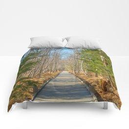 Jesup Boardwalk Trail Comforters