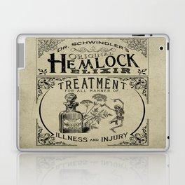 Dr. Schwindler's Original Hemlock Elixir Laptop & iPad Skin