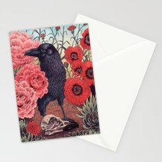 Crow Effigy Stationery Cards