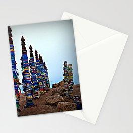 ceremonial posts Serge Olkhon Stationery Cards