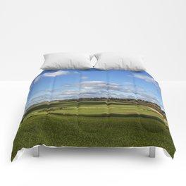 Views of Wiltshire. Comforters