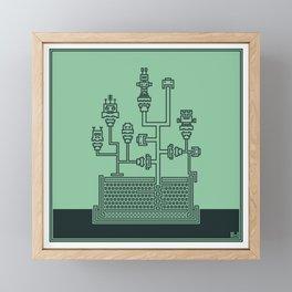 Planticular Robotic Framed Mini Art Print