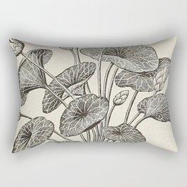 Water Lillies Rectangular Pillow