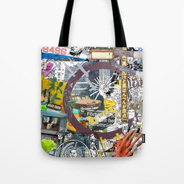 Pop UP - THREE Tote Bag