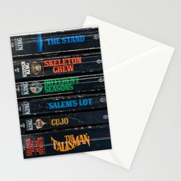 Stephen King Well-Worn Paperbacks Stationery Cards