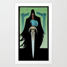 Death Bringer Art Print