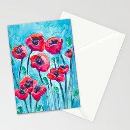 Poppy Sky Stationery Cards
