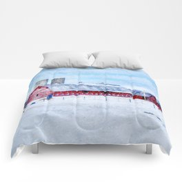A Snowy Day Comforters
