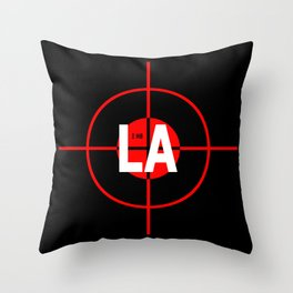 I H8 LA Throw Pillow