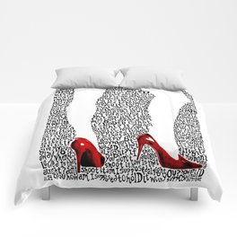 9 Crimes Comforters