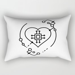 Artificial intelligence Rectangular Pillow