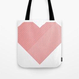 hart /red/ Tote Bag