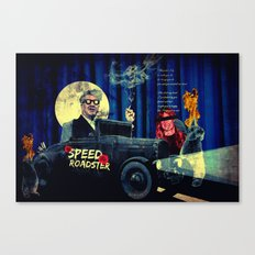Speed Roadster Canvas Print