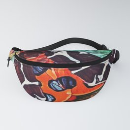 Garden Tiger | Moth - Oil Painting Fanny Pack